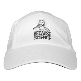 Jesus Concurs - Because Science - - Pro-Science -. Headsweats Hat