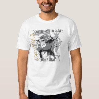 JESUS CONQUERING LION OF JUDAH WHITE TSHIRT BLACK