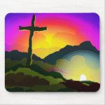 Jesus Conquers Death Mouse Pad