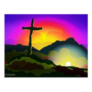 Jesús conquista el sepulcro postal