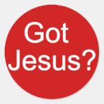 ¿Jesús conseguido? Pegatina
