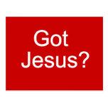¿Jesús conseguido? Postal