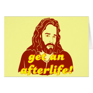 Jesús consigue una vida futura tarjeton