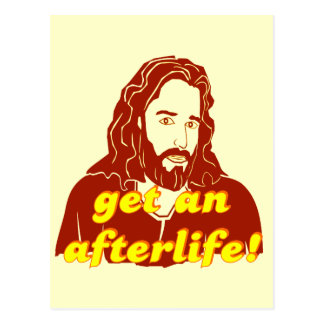 Jesús consigue una vida futura tarjeta postal