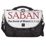 Jesús contra Saban Bolsas Para Ordenador