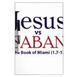 Jesús contra Saban Pizarras