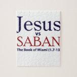 Jesús contra Saban Rompecabezas