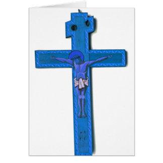 Jesus Cross Greeting Card