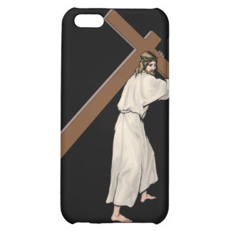 Jesus Cross Fitted Hard Case for Apple iPhone 4 iPhone 5C Cases