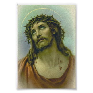 Jesus Crown of Thorns Poster