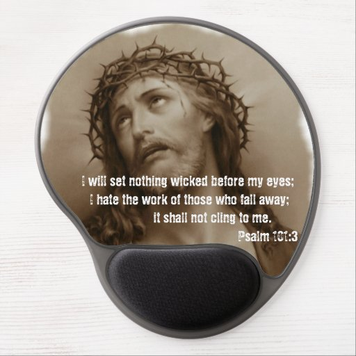Jesus Crowned with Thorns Mousepad Gel Mouse Mats