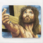 Jesús crucificó alfombrilla de raton