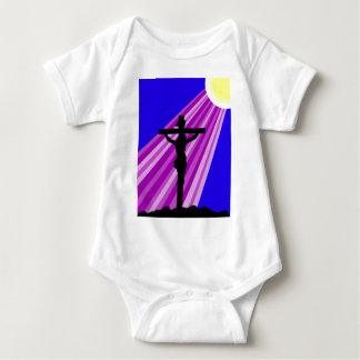 Jesus Crucifiction Baby Bodysuit
