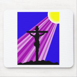 Jesus Crucifiction Mouse Pad