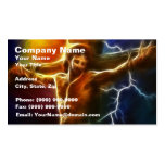 Jesus Crucifixion 2 Double-Sided Standard Business Cards (Pack Of 100)