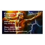 Jesus Crucifixion 2 Business Card Templates
