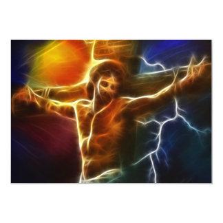 Jesus Crucifixion 2 Card