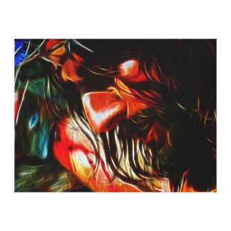 Jesus Crucifixion Canvas Print