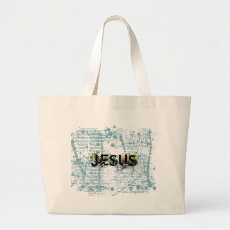 Jesus crunge solid by  christianstores tote bag