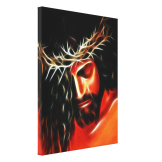 Jesus Crying Canvas Print