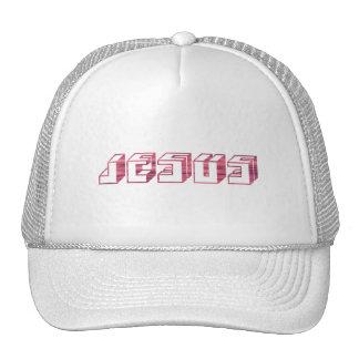 Jesus Cube Rose Mesh Hats