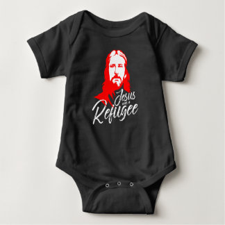 Jesus Dark Baby Bodysuit