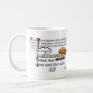 Jesus defeated Satan - Mug