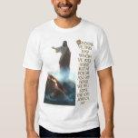 Jesus Defeating Satan and Joshua 24:15 Shirt