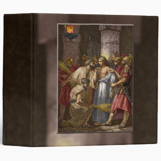 Jesus Delivered to the Soldiers Binder