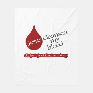 Jesus Dialysis Blanket