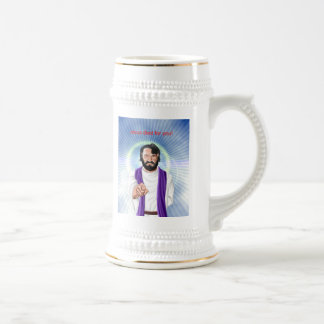 Jesus died for you, Jesus died for you Beer Stein
