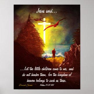 Jesús dijo poster