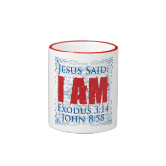 Jesús dijo que SOY taza de café