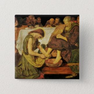 Jesus  Disciple's Feet Button