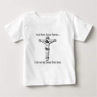 Jesús divertido habló t-shirts
