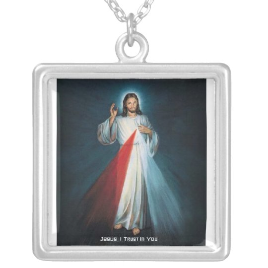 Jesus divine mercy necklace zazzle jesus divine mercy necklace aloadofball Gallery