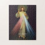 Jesús divino del rompecabezas de la misericordia