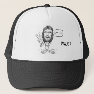 Jesus-Drawing, WWJD? Jesus Hat