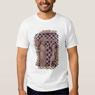 Jesus driving out the unclean spirit, relief shirt