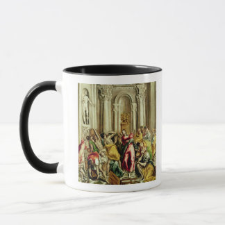 Jesus Driving the Merchants from the Temple Mug