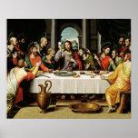 Jesús el poster de la última cena - Ultima Cena