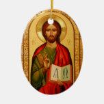 Jesús el profesor adorno de navidad