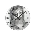 Jesús en agonía relojes de pared