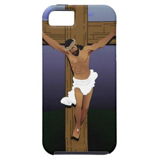 Jesús en Cross.jpg iPhone 5 Cárcasas