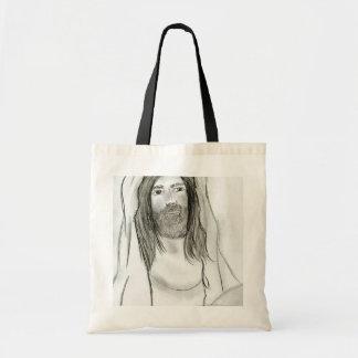 Jesús en cueva bolsa tela barata