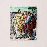 Jesús en el camino a Emmaus Puzzle