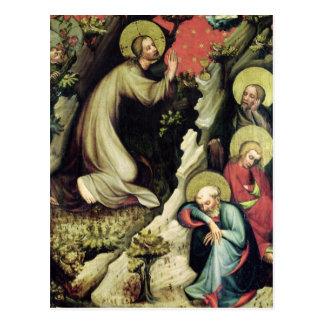 Jesús en el jardín de Gethsemane Tarjetas Postales