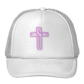 Jesús en gorra rosado