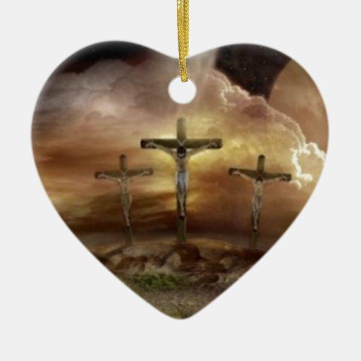 JESÚS EN LA CRUZ ADORNOS DE NAVIDAD