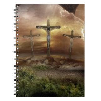 JESÚS EN LA CRUZ LIBRETAS ESPIRALES
